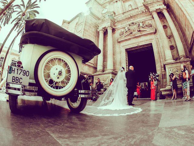 La boda de Carlos y Raquel en Almería, Almería 17