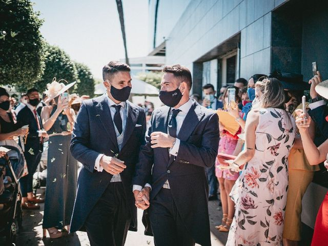 La boda de Daniel  y Porfirio  en Sevilla, Sevilla 5