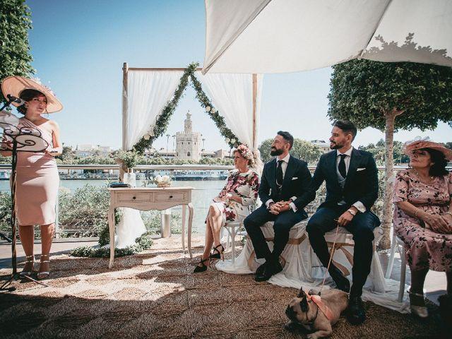 La boda de Daniel  y Porfirio  en Sevilla, Sevilla 7
