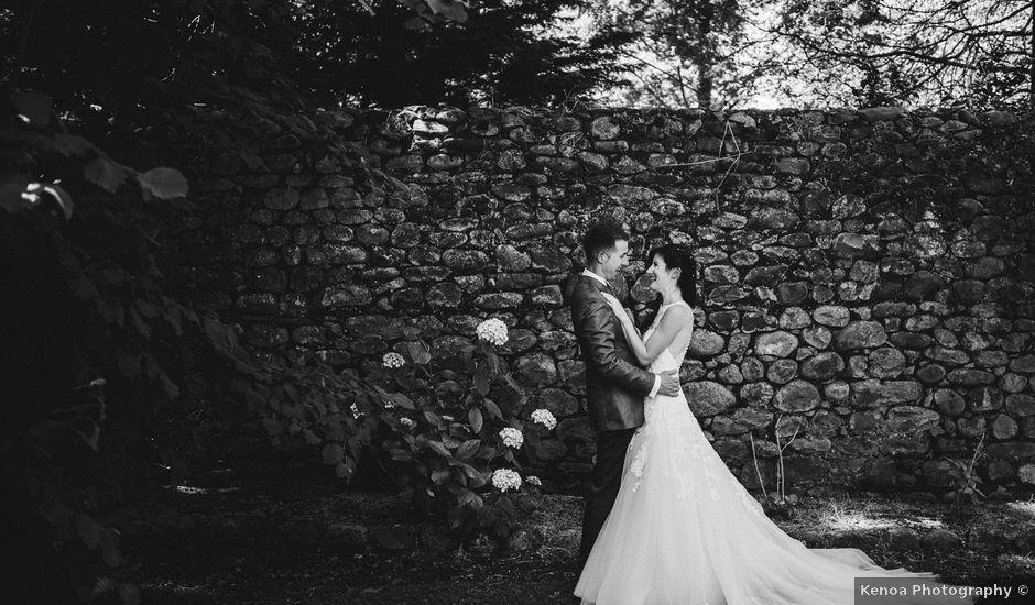 La boda de Iñigo y Naiara en Iruz, Cantabria