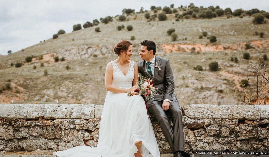 La boda de Diego y Beatriz en Almazan, Soria