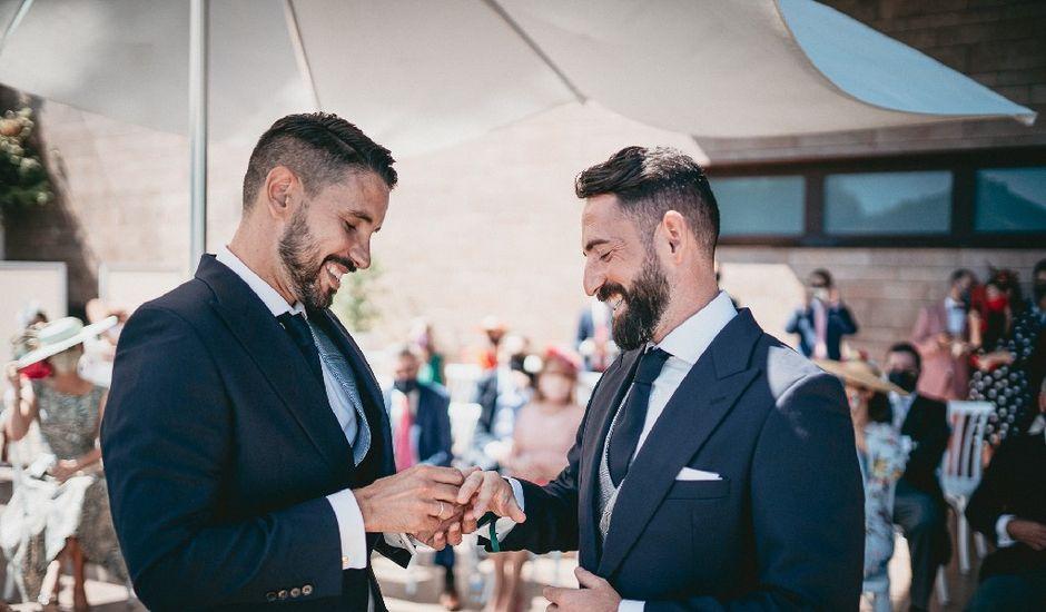 La boda de Daniel  y Porfirio  en Sevilla, Sevilla