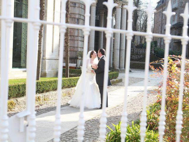 La boda de Fernando y Paula en Mondariz (Balneario), Pontevedra 55