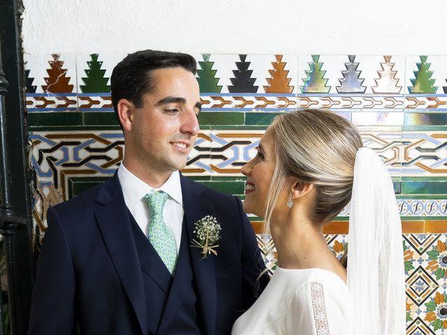 La boda de Belén y José María en Salteras, Sevilla 22