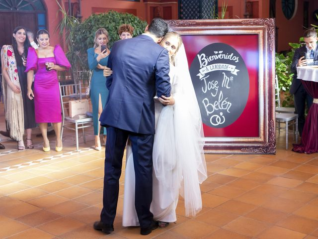 La boda de Belén y José María en Salteras, Sevilla 35