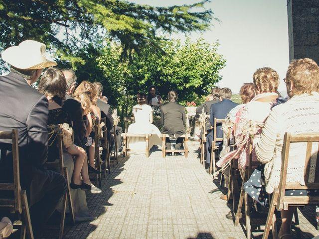 La boda de Carlos y Elena en Santa Gadea Del Cid, Burgos 25