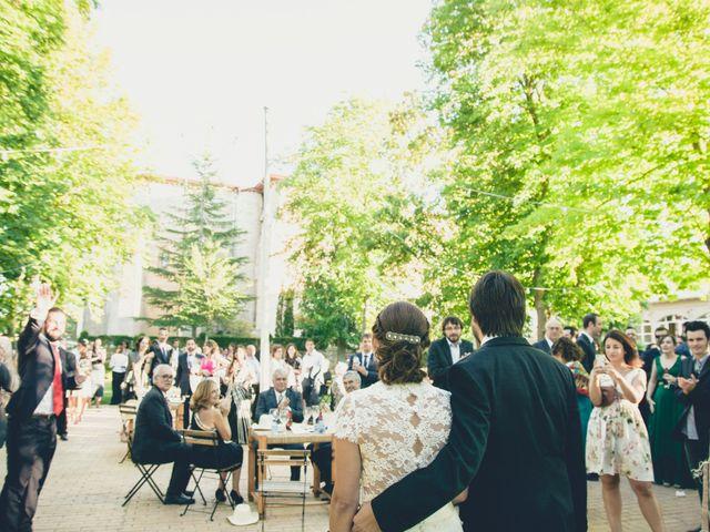 La boda de Carlos y Elena en Santa Gadea Del Cid, Burgos 35