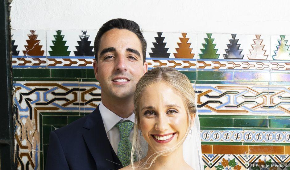 La boda de Belén y José María en Salteras, Sevilla
