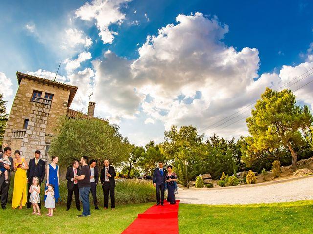 La boda de Paco y Meis en Torrelodones, Madrid 12