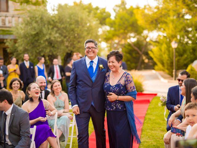 La boda de Paco y Meis en Torrelodones, Madrid 13