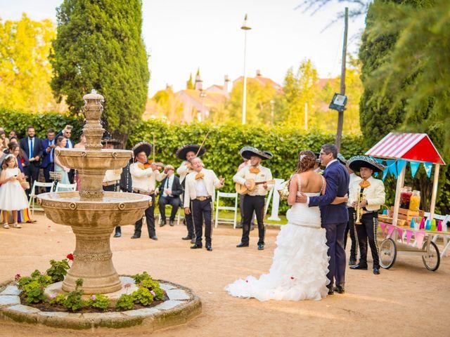 La boda de Paco y Meis en Torrelodones, Madrid 36