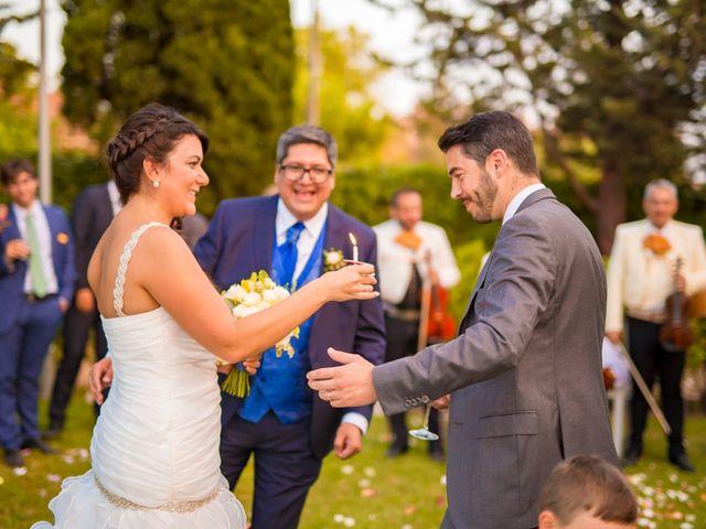 La boda de Paco y Meis en Torrelodones, Madrid 45