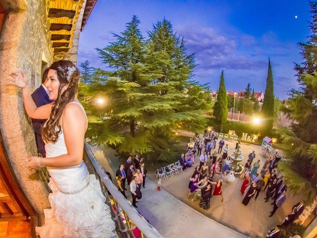 La boda de Paco y Meis en Torrelodones, Madrid 50