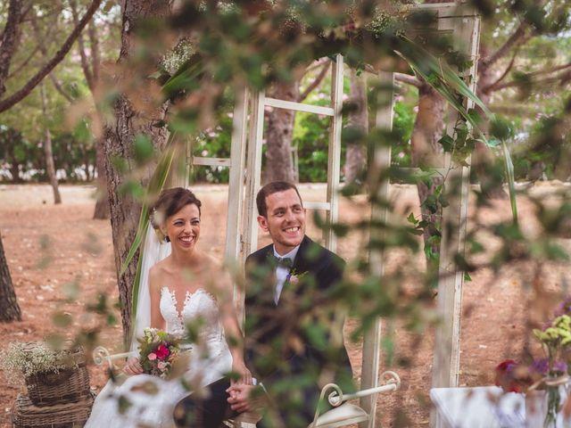 La boda de Carlos y Gemma en Riudoms, Tarragona 35