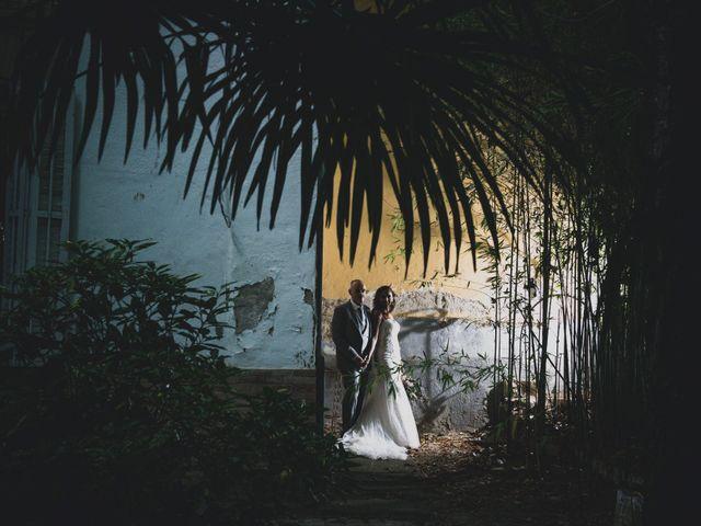 La boda de Ghislaine y Marcos