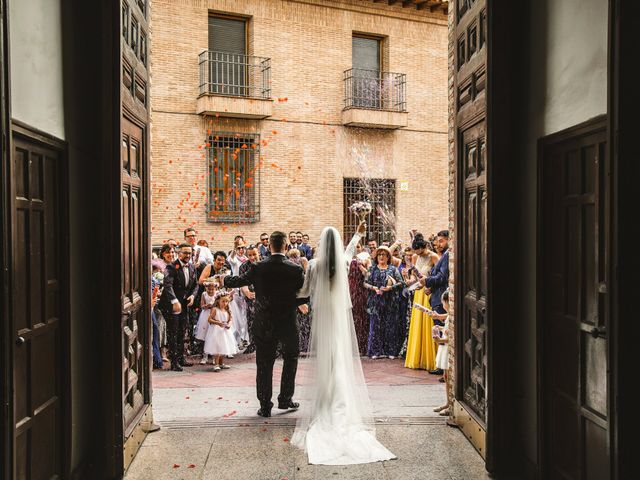 La boda de Adrian y Sara en Algete, Madrid 35