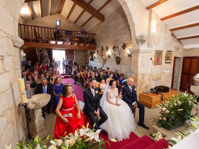 La boda de Ruben y Elena en Baiona, Pontevedra 26