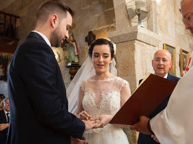 La boda de Ruben y Elena en Baiona, Pontevedra 28