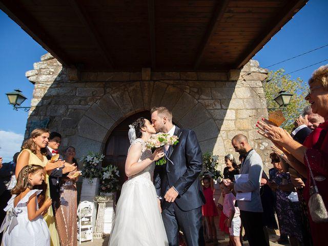 La boda de Ruben y Elena en Baiona, Pontevedra 32