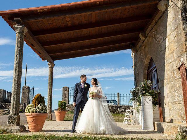La boda de Ruben y Elena en Baiona, Pontevedra 37