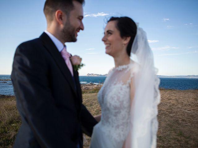 La boda de Ruben y Elena en Baiona, Pontevedra 45