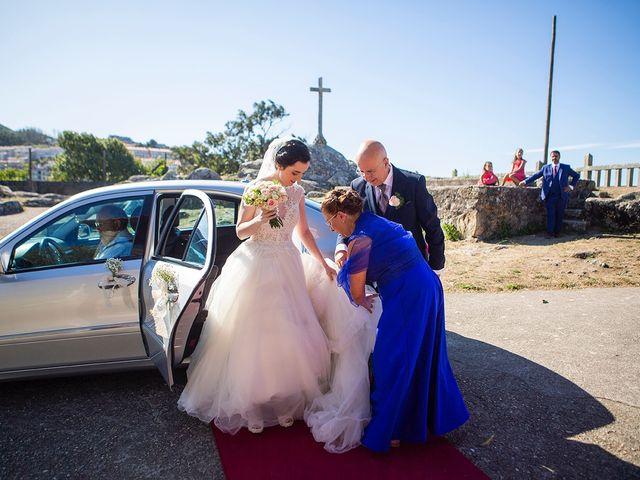 La boda de Ruben y Elena en Baiona, Pontevedra 23