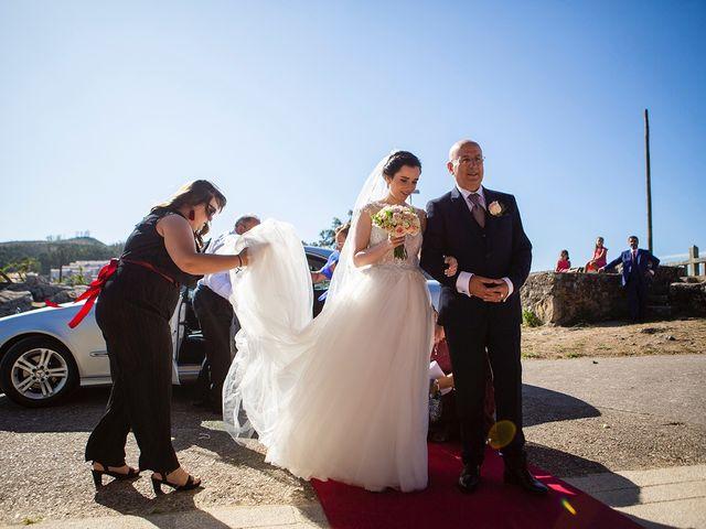 La boda de Ruben y Elena en Baiona, Pontevedra 24