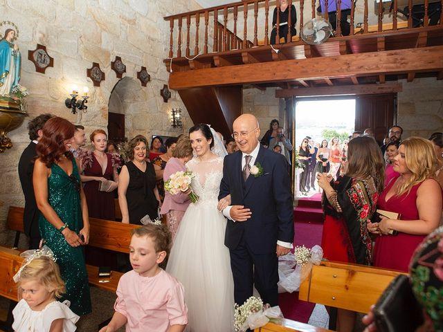 La boda de Ruben y Elena en Baiona, Pontevedra 25