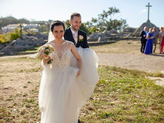 La boda de Ruben y Elena en Baiona, Pontevedra 36