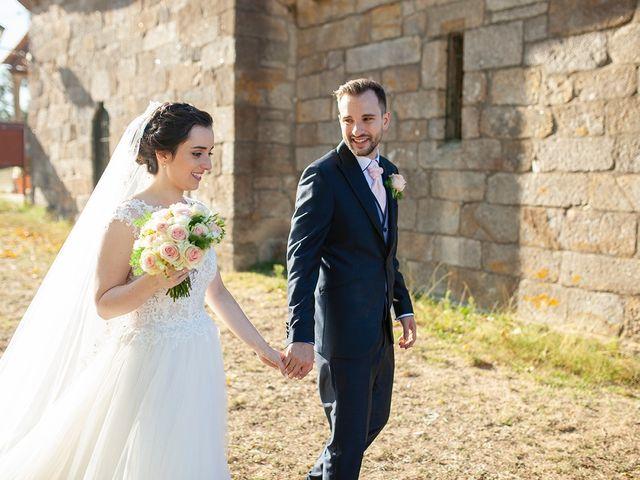 La boda de Ruben y Elena en Baiona, Pontevedra 39