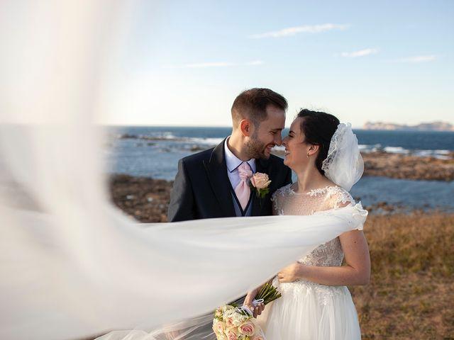 La boda de Ruben y Elena en Baiona, Pontevedra 51