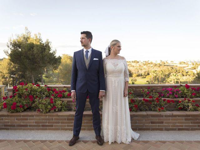 La boda de Alberto y Luz en Urbanización Campoamor, Alicante 10
