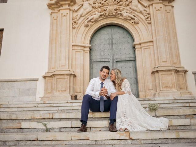 La boda de Alberto y Luz en Urbanización Campoamor, Alicante 106