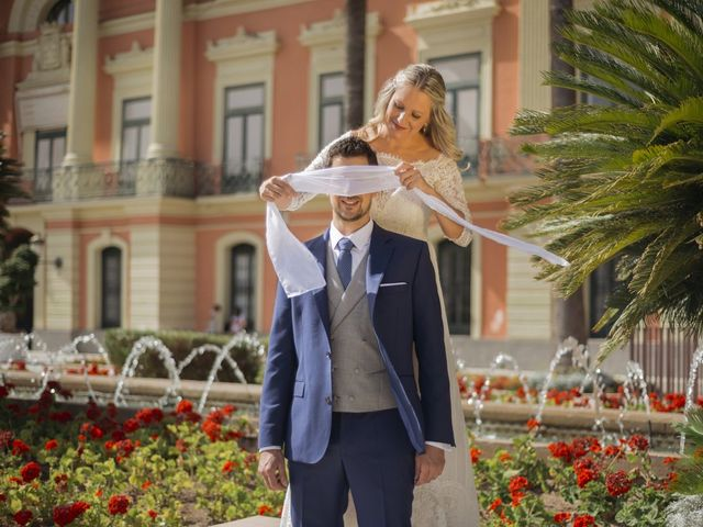 La boda de Alberto y Luz en Urbanización Campoamor, Alicante 133