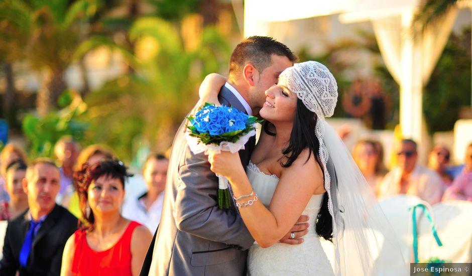 La boda de Fer y Isa en La Manga Del Mar Menor, Murcia