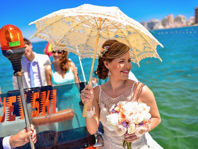La boda de Maxi y Cris en La Manga Del Mar Menor, Murcia 8