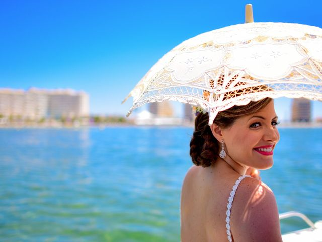 La boda de Maxi y Cris en La Manga Del Mar Menor, Murcia 1