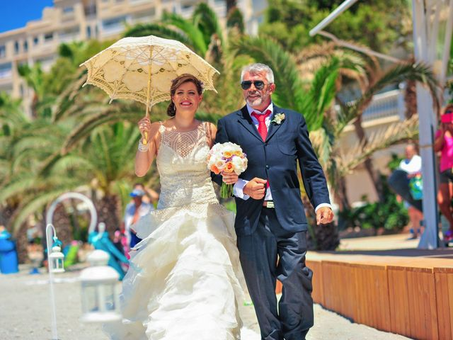 La boda de Maxi y Cris en La Manga Del Mar Menor, Murcia 11