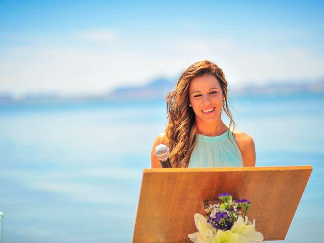 La boda de Maxi y Cris en La Manga Del Mar Menor, Murcia 15