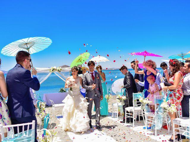 La boda de Maxi y Cris en La Manga Del Mar Menor, Murcia 18