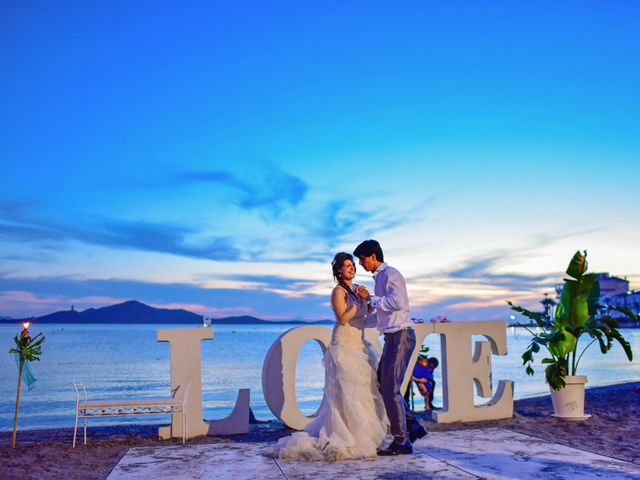 La boda de Maxi y Cris en La Manga Del Mar Menor, Murcia 40