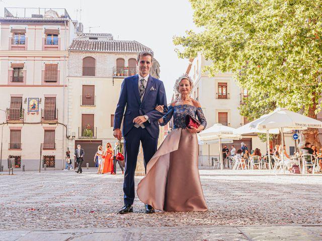 La boda de Javi y Maite en Granada, Granada 35
