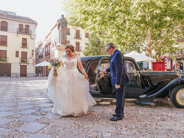 La boda de Javi y Maite en Granada, Granada 36