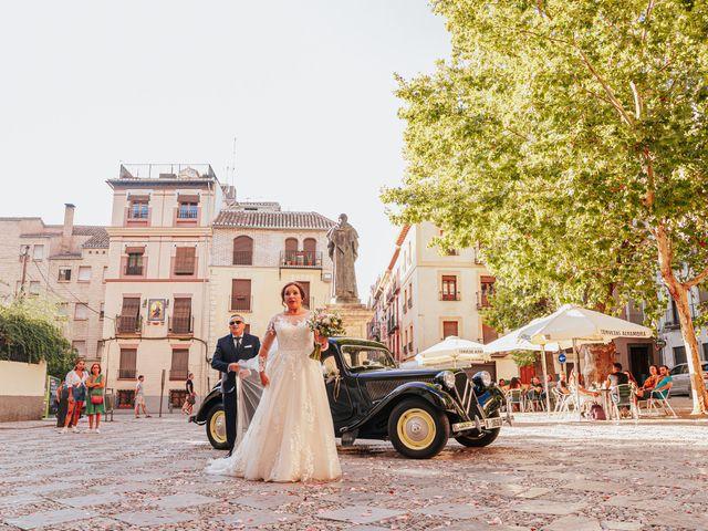 La boda de Javi y Maite en Granada, Granada 37