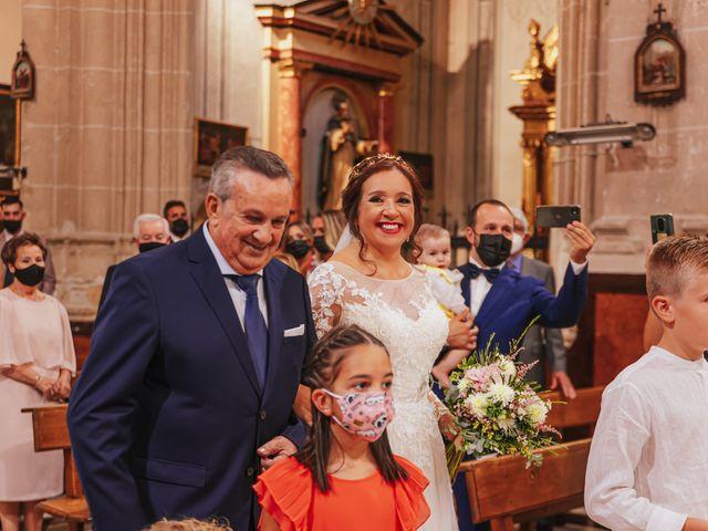 La boda de Javi y Maite en Granada, Granada 43