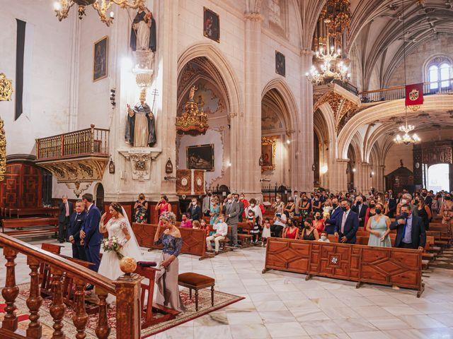 La boda de Javi y Maite en Granada, Granada 44