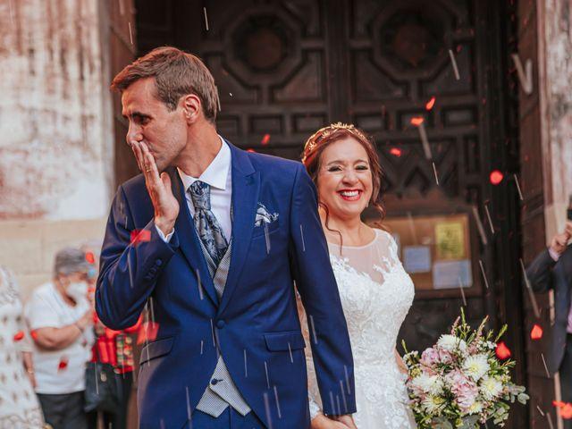 La boda de Javi y Maite en Granada, Granada 55