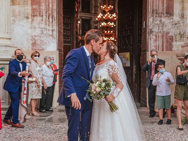 La boda de Javi y Maite en Granada, Granada 56