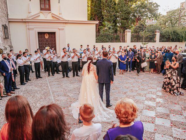 La boda de Javi y Maite en Granada, Granada 57