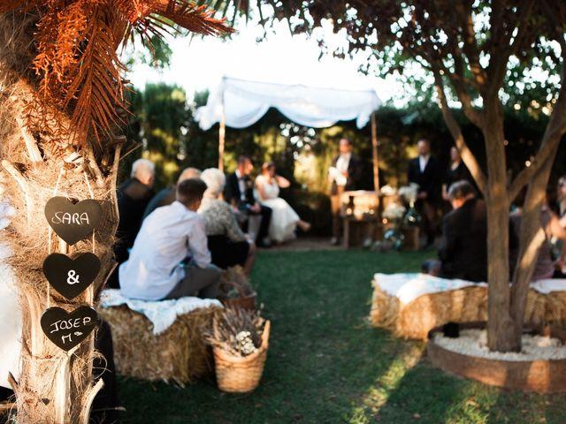 La boda de Josep Mª y Sara en Mollerussa, Lleida 15